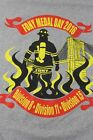 FDNY Medal Day 2016 Div 8 11 15 Large gray shirt