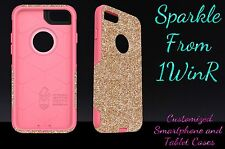 "Otterbox Commuter Series Custom Glitter Case for 5.5"" iPhone 7 Plus Gold/Pink"