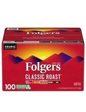 Folgers Classic Roast Coffee - 100 K-Cups