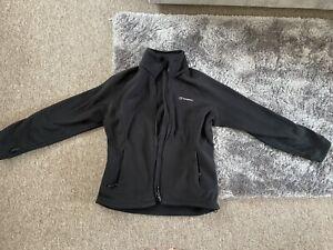 Berghaus Ladies Full Zip Fleece - Black - Size 12 - Worn Once!