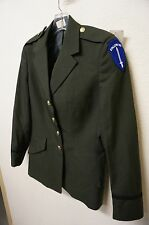 US ARMY Women's Dress Jacket / Coat  Size 10 MT  (A1385)