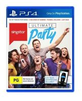 PS4 Ultimate Party Singstar for Sony Playstation 4 - Brand New Sealed