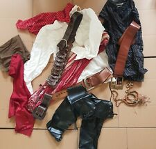 Home Made Unique Mens Pirate Costume Cosplay Fancy Dress 19 Pieces