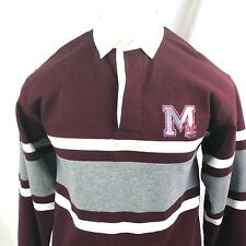 Barbarian Mens Polo Rugby Shirt Large University Maryland Eastern Shore