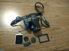 Nikon Coolpix P100 Digital Camera -Sold As Is For Parts-needs screen replaced