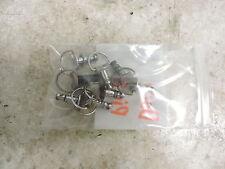 00 Triumph Daytona 955i 955 i cowl fairing body panel mount pins cam locks
