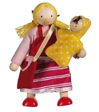 Biegepuppe TOCHTER Family Collection Biegepüppchen Puppenhaus Holz Mädchen NEU