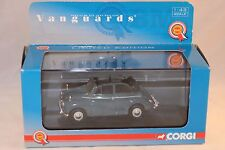 Vanguards Corgi VA 07103 Morris Minor Convertible Clipper Blue 1:43 mint in box