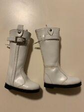 1/4 MSD BJD Doll White Boots.