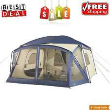 12 Person Hiking Cabin Tent Camping Family Outdoor Instant Tents Trail 2 Room