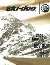 2011 2012 Ski-Doo REV-XU series 600 HO 600 ACE 1200 4-TEC snowmobile srvc manual