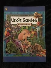 UNO'S GARDEN - BY GRAEME BASE - PAPERBACK - MINI BOOK - LIKE NEW