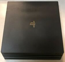 USED 10/10 Sony Playstation 4 PS4 Pro 1TB Console Jet Black In Box Excellent