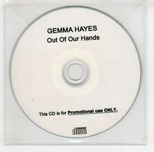 (GV149) Gemma Hayes, Out Of Our hands - DJ CD
