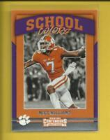 Mike Williams RC  2017 Contenders Draft School Colors Rookie Card # 9 Chargers