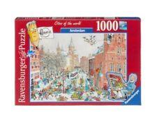 Puzzle RAVENSBURGER 1000 pezzi-fleroux-Amsterdam in inverno (61255)