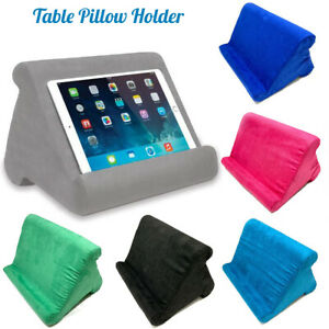 Table Pillow Holder Stand Book Rest Reading Bed Support Cushion For iPad Tablet