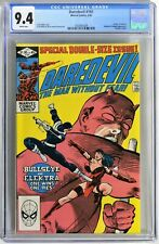 "S935. DAREDEVIL #181 by Marvel CGC 9.4 NM (1982) ""Death"" of ELEKTRA, WHITE Pages"