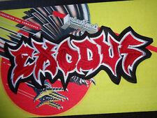 Exodus Thrash Metal  Backpatch Patch Shape Kutte Import Thrash Metal Slayer 12