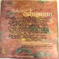 Vintage Robert Schumann Symphony No. 2 by Leonard Bernstein Vinyl LP  - 1957