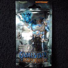 2005 PR22 espacio Marina veterano sargento Aurelio Edición Limitada Warhammer 40K