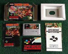 DONKEY KONG COUNTRY * SUPER NINTENDO GAME * BOXED WITH INSTRUCTIONS ETC * PAL