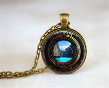 ZEISS IKON Camera Lense Photocopy Necklace,Waterfall Necklae,Beach Necklace