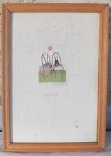 litho lithographie Christine Thonyean numérotée 3/99 après la fête