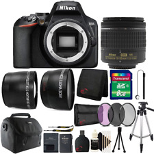 Nikon D3500 24.2MP Digital SLR Camera with 18-55mm Lens and All You Need Bundle