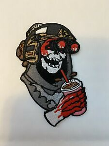 "Wasteland Kooks ""Misfortunes"" V3 Skeletor patch Wrmfzy Supdef Spiritus Systems"