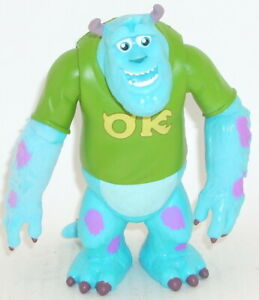 Disney's Monsters University SULLEY Action Figure COMPLETE Scare Students OK
