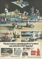 X2438 Emozionanti avventure con LEGOLAND Spazio - Pubblicità 1980 - Advertising