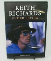 KEITH RICHARDS: UNDER REVIEW DVD DOCUMENTARY, THE LIFE & CAREER, FOOTAGE +, GUC