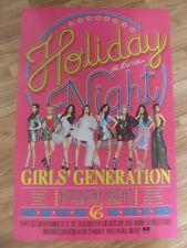 SNSD GIRLS' GENERATION - HOLIDAY NIGHT (TYPE A) [ORIGINAL POSTER] K-POP *NEW*
