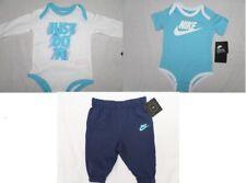 NIKE 3/6 mois bébé garçon 65-70 cm 3 pièces Ensemble bleu blanc long
