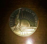 1986-S GEM DEEP CAMEO PROOF STATUE OF LIBERTY ELLIS ISLAND COMMEMORATIVE HALF