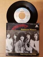 "Krokus-American Woman/Bad Boys Rag Dolls-Vinyl 7"",45 RPM,Single-Sammlung Rock"