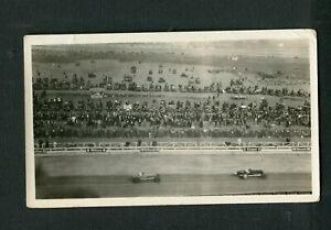 1920s Indy 500 Racing Action Durant Miller Signs Vintage Photo 473005