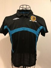 Hull City Afc The Tigars Umbro Black Youth Size Xl Soccer Polo Shirt