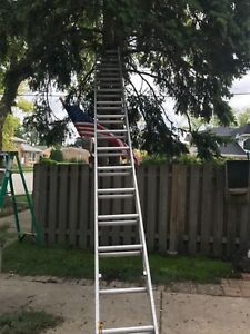 32 Foot Extension Ladder All Aluminum -Used--