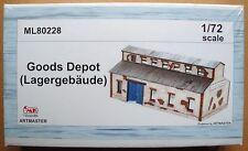 CMK ARTMASTER 80228 Goods Depot / Lagergebäude Resin Kit in 1:72