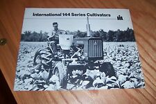 INTERNATIONAL  144  SERIES  CULTIVATORS 1973 LITERATURE