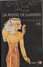 Livre la femme sage  tome 2 Christian. Jacq book