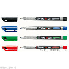 Stabilo Write-4-All Permanent Marker Pens for CDs/DVDs - Choose Line Width