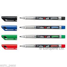 Stabilo Write 4 All Permanent Marker Pens For Cdsdvds Choose Line Width