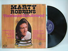 MARTY ROBBINS - THE FASTEST GUN autour du ,Hallmark shm-878 ex-condition Vinyle