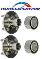 2 2006-2011 TOYOTA YARIS FRONT WHEEL HUB & BEARING KIT SEDAN & HATCHBACK