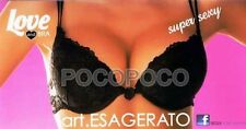 REGGISENO PIZZO PUSH UP CON FERRETTO + 2 TAGLIE LOVE AND BRA ART. ESAGERATO