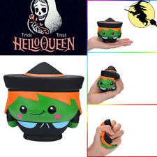 Halloween Witch Doll Scented Soft Slow Rising Kid Toy Stress Relief Toy New