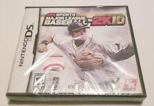 Major League Baseball 2K10 (Nintendo DS, 2010) New